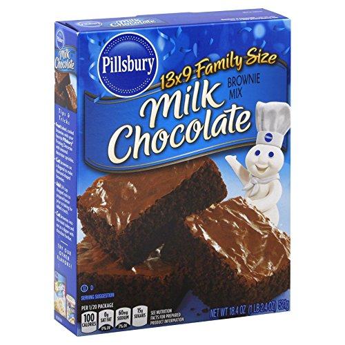 ミルクチョコレート ブラウニーミックス Milk Chocolate Brownie Mix