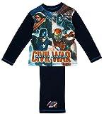 The Avengers Bürgerkrieg Jungen Schlafanzug 7-8 Jahre