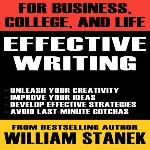 Effective Writing for Business, College, and Life audiobook cover art