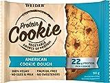 Weider Protein Cookies American Cookie Dough 12 x 90 g. Galleta de proteínas 100% vegana.