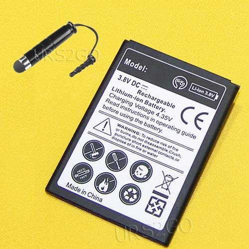 Best High Capacity Rechargeable 3480mAh Extended Slim Battery with Additional Valueable Accessory (See Picture) for Samsung Galaxy S4 Mini SCH-I435 Verizon Phone USA