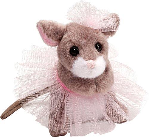 Cudddle Toys 647 Tippy Toe BALLERINA MOUSE muis met ballet Tutu knuffeldier pluche speelgoed