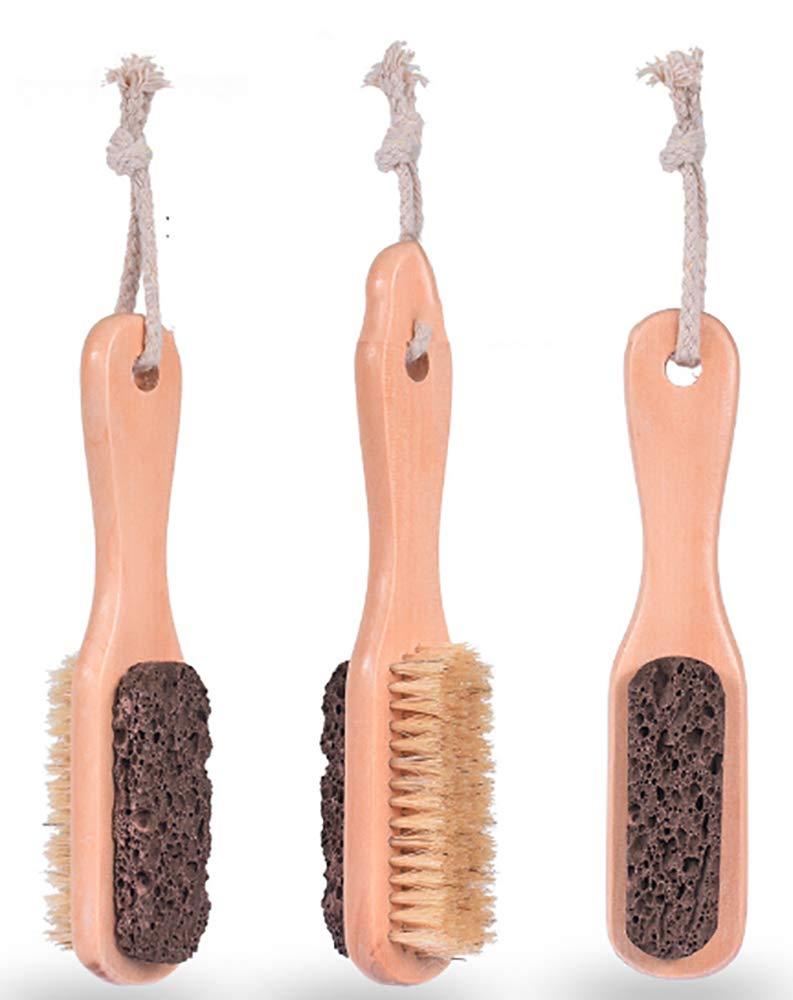 Kework Foot File NEW Callus Remover Scrubber Special sale item Handle Wood Feet