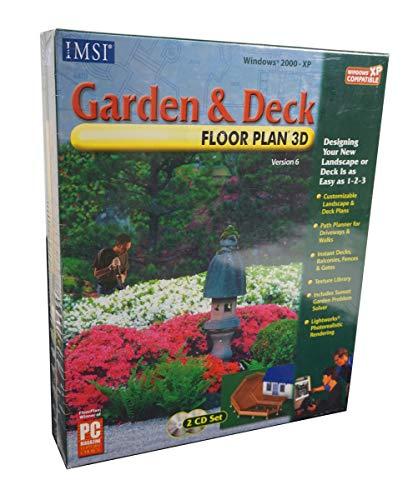 New Imsi Software Garden & Deck Floorplan 3d Instant Decks Balconies Fences And Gates Deck Plans