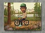 APPLEpie Tyler The Creator Musik Wolf auf Ein Fahrrad
