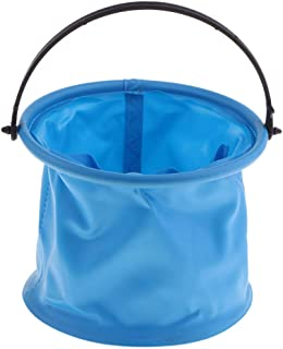 Baoblaze Easy Folding Brush Washer Holder Container Oil Painting Water Paint Bucket