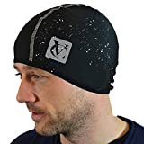 VeloChampion Thermo Tech Cycling Skull Cap – Windproof Thermal Under Helmet Hat for Running,...