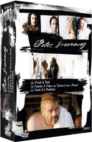 Peter Greenaway - Coffret 4 films [Francia] [DVD]