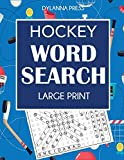 Hockey Word Search: Large Print Word Search Featuring Favorite Players, Teams, and Game Terms
