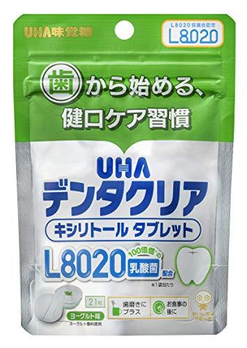UHA味覚糖 デンタクリア タブレット ヨーグルト味 21粒