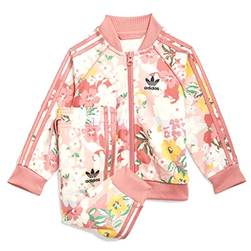 adidas Her Studio London Floral - Chándal rosa para niña GN2261 Rosa...