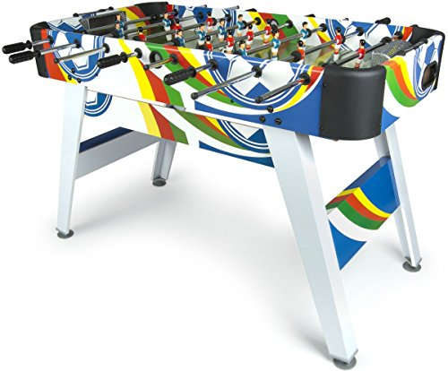 Leomark Fun Football Table de babyfoot Jeu de Football, Baby-Foot,...