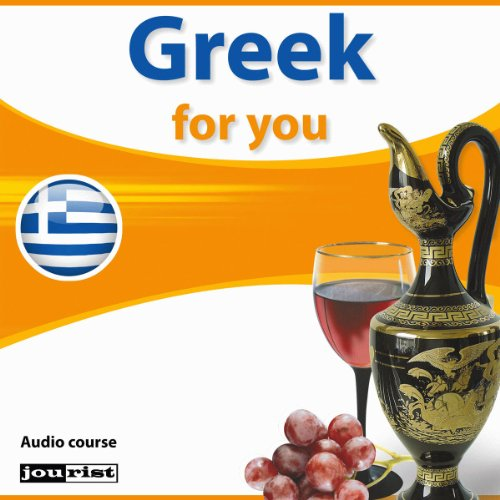 Greek for you audiobook cover art