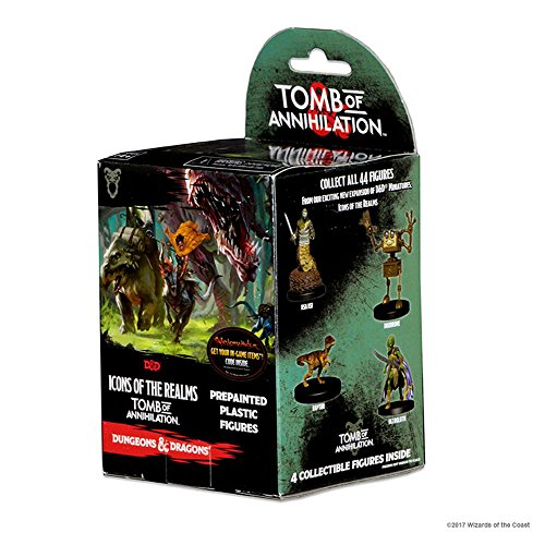 Dungeons and Dragons Fantasy Miniatures: Icons of The Realm: Tomb of Annihilation Booster