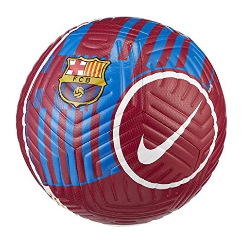 Nike FC Barcelona Strike Ball DC2419-620 - Balón de fútbol para Mujer, niño y Hombre, Color Rojo
