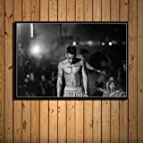 YWOHP Cuadro en Lienzo con impresión de Arte de Pared, decoración del hogar, Pintura de Estrella de música Hip Hop, póster nórdico Modular, Sala de estar-60x80cm_No_Framed_13