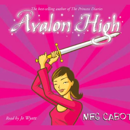 Avalon High audiobook cover art