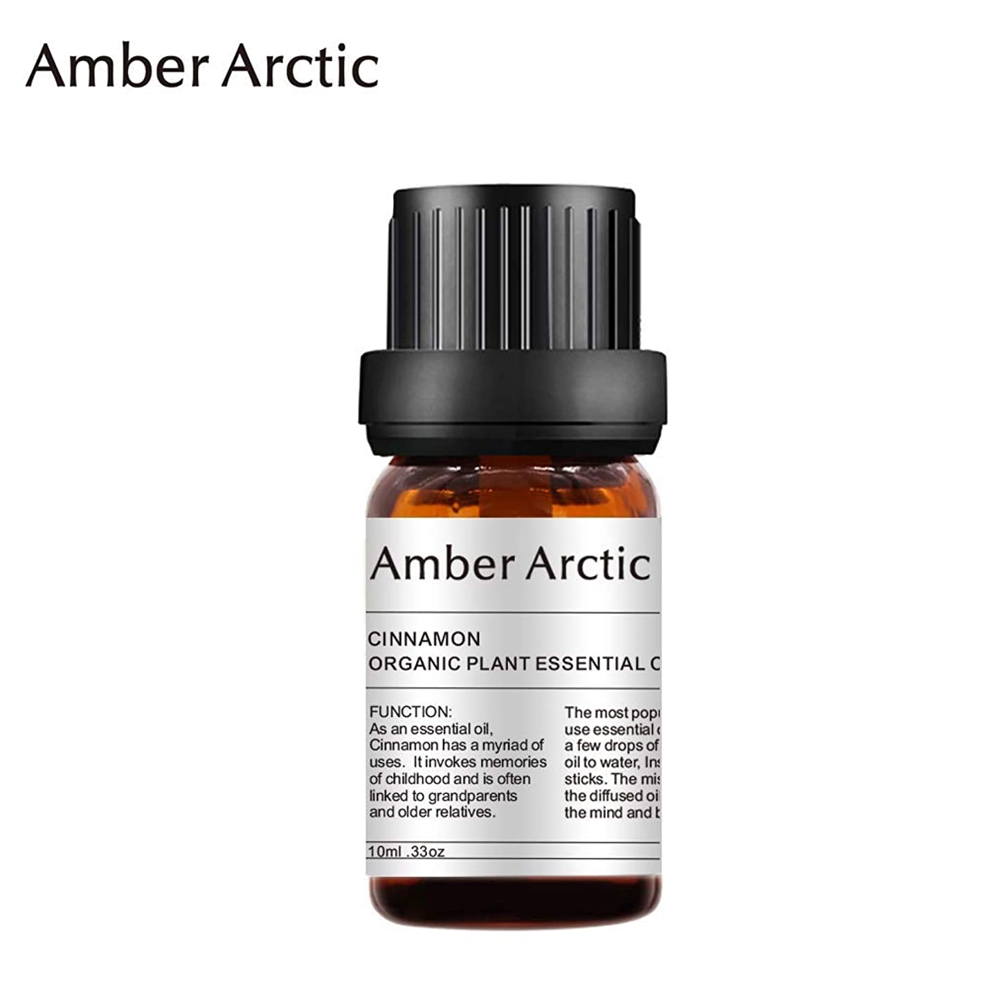 政策論争的ドライバAmber Arctic シナモン エッセンシャル オイル、100% 天然 アロマ テラピー シナモン オイル スプレッド 用 (10ML) シナモン