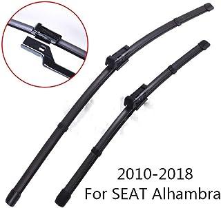 Reemplazo Rascador Parabrisas Limpiaparabrisas cuchillas for VW Sharan 2001-2010 Limpiaparabrisas for Seat Alhambra ventana delantera for Ford Galaxy 01-2006