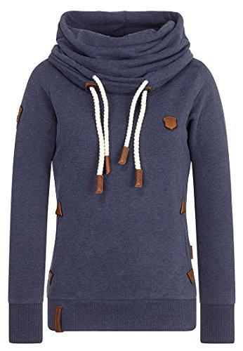 Naketano Female Sweatshirt Unterfickte Alte Dark Night Melange, S