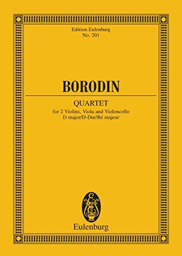 String Quartet No. 2 D major (Eulenburg Studienpartituren) (English Edition)