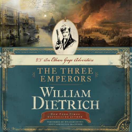 The Three Emperors audiobook cover art