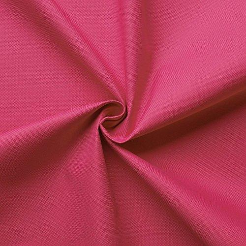 aktivstoffe Carry - Lona de Tela Impermeable - 100% poliéster - 21 Colores - por Metro (Rosa)