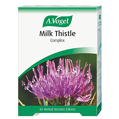 A.Vogel Bioforce Milk Thistle Complex Herbal Tincture- 60 Tablets