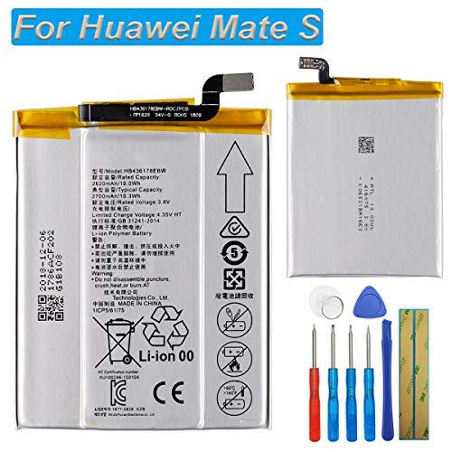 E-yiviil HB436178EBW - Batería de Repuesto para Huawei Mate S CRR-CL00 CRR-CL20 CRR-L09 CRR-UL00 E2629 (con Herramientas)