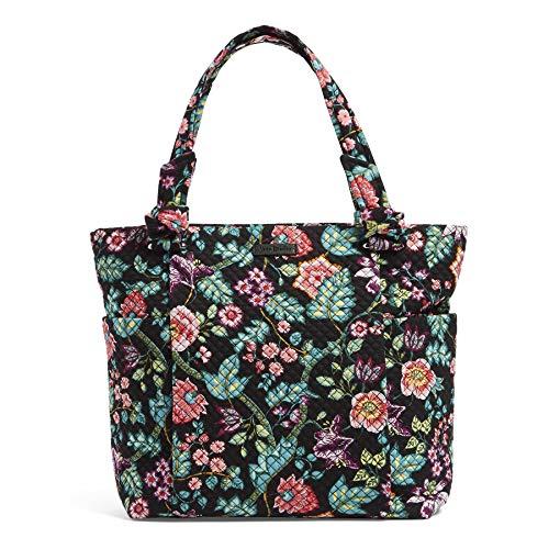 Vera Bradley Women's Signature Cotton Hadley Tote Bag, Vines Floral