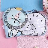KUIDAMOS Colchón de Cama portátil con Forma de león de Dibujos Animados para bebé para Dormir Infantil(Forest Lion)
