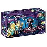 PLAYMOBIL Adventures of Ayuma 70803 Crystal Fairy und Bat Fairy mit Seelentieren, Ab 7 Jahren