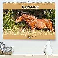 Kaltblueter - Schwere Pferde mit Charme (Premium, hochwertiger DIN A2 Wandkalender 2022, Kunstdruck in Hochglanz): Zauberhafte Kaltblutpferde (Monatskalender, 14 Seiten )