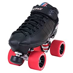 HIGH-QUALITY, DURABLE ROLLER SKATES - These quad roller skates are hand-made using an ultra durable vinyl material, creating a breathable, durable skate boot. The skates have a PowerDyne Thrust nylon plate with metal trucks for optimal support. EASY ...