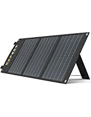 TogoPOWER 60W 120W Portable Solar Panel Foldable Solar Charger Power Bank for Cell Phone, Tablet, Laptop, Camera, and 5-18V Devices. Compatible with Solar Generators Power Stations.