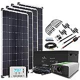 Offgridtec© Autark XXL-Master 600W Solar - 1500W AC Leistung 260Ah AGM Akku 12V 230V