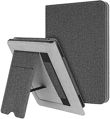 Handheld Case voor Kindle Paperwhite [10e generatie – 2018 / Past op alle Paperwhite eReader] – Premium canvas lederen…