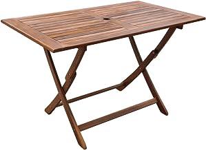 vidaXL Outdoor Dining Table Acacia Wood Indoor Patio Garden Picnic Furniture