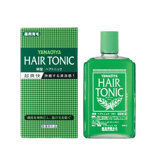 YANAGIYA Hair Tonic 240ml (Japan Import) by YANAGIYA