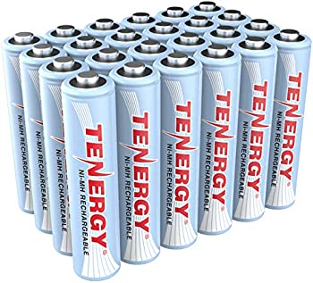 24-Pack Tenergy AAA Rechargeable Battery