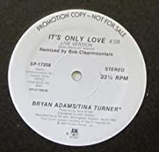 Bryan Adams / Tina Turner ~ Its Only Love 12 Inch Single