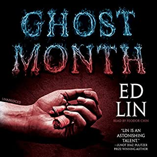 Ghost Month audiobook cover art