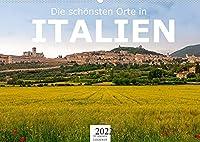Die schoensten Orte in Italien. (Wandkalender 2022 DIN A2 quer): Erleben Sie Italien wie nie zuvor. (Monatskalender, 14 Seiten )