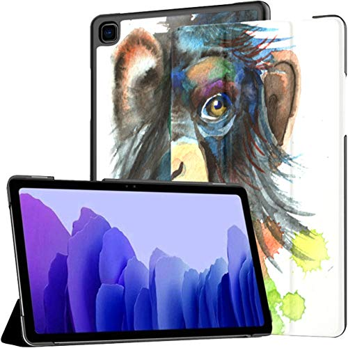 Forest Black Beast Gorilla Flower Samsung Galaxy Tablet Case Galaxy Tab A7 10.4 Inch Tablet With Case Samsung Galaxy Tablet Case With Auto Wake/sleep Fit Samsung Tablet Case For Galaxy Tab A