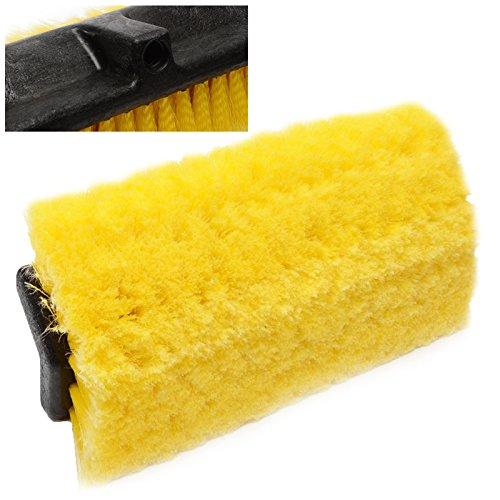 Cabezal de cepillo de cerdas suaves de repuesto para barras de limpieza – coches, furgonetas, camiones, camiones