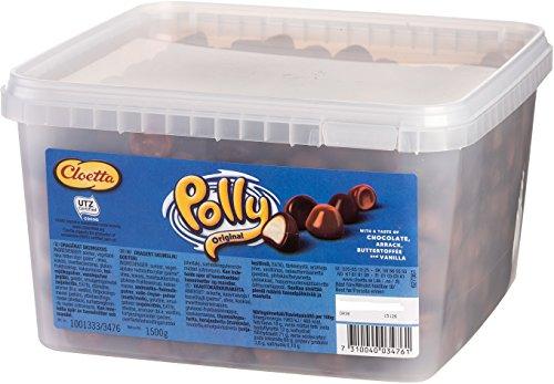 Cloetta Polly Original - Schwedisch Milchschokolade Süßigkeiten Schaumzucker Box 1,5 kg