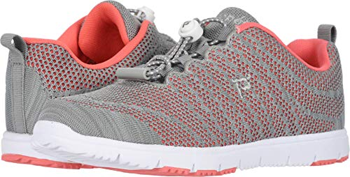 PropÃt womens Travelwalker Evo Sneaker, Coral/Grey, 8.5 US