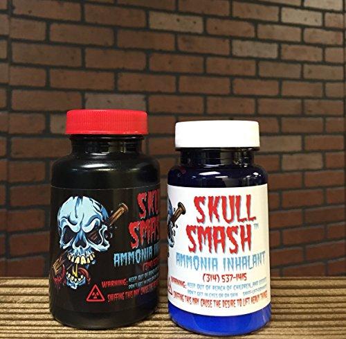 Skull Smash Ammonia Inhalant - Get Jacked for Your Big Lift (2.5 ounce bottle)