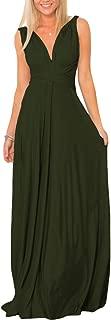 Women Transformer Evening Long Prom Dress Multi-Way Wrap Convertible Floor Length Wedding Halter Maxi Gown High Elasticity