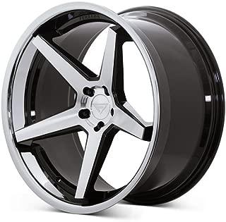 Ferrada Wheels FR3 22x9.5 5x112 ET15 Machine Black/Chrome Lip C.B 66.56